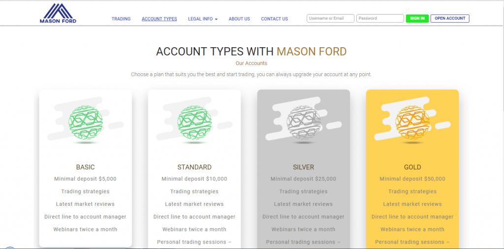 Mason Ford Broker Review