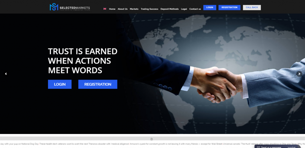 Selected Markets Forex Review