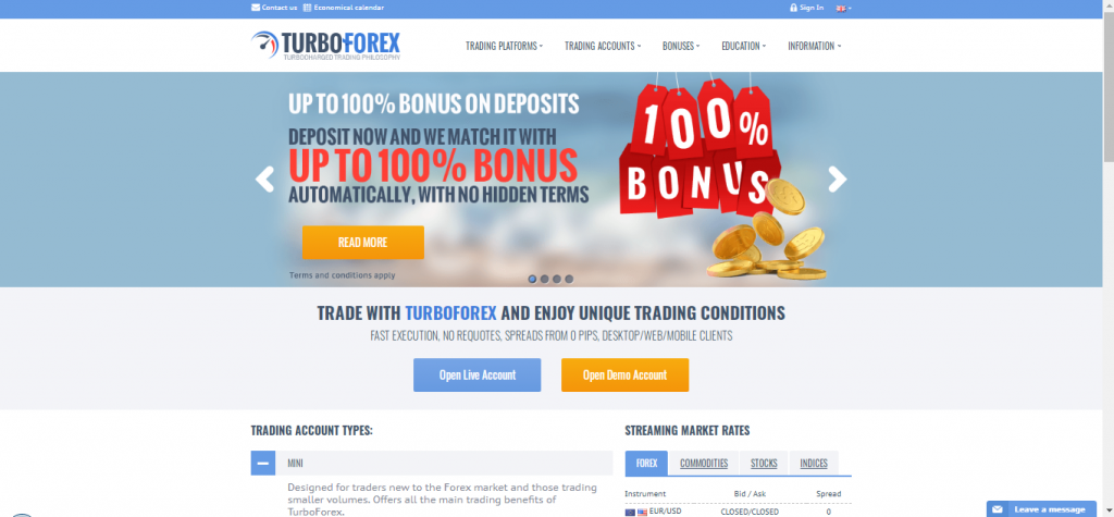 TurboForex Review