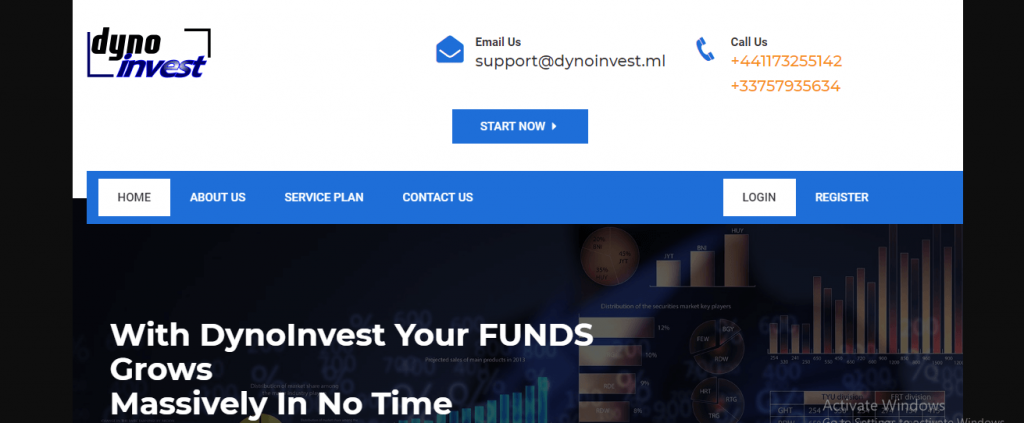 Dynoinvest Review, Dynoinvest.ml Platform