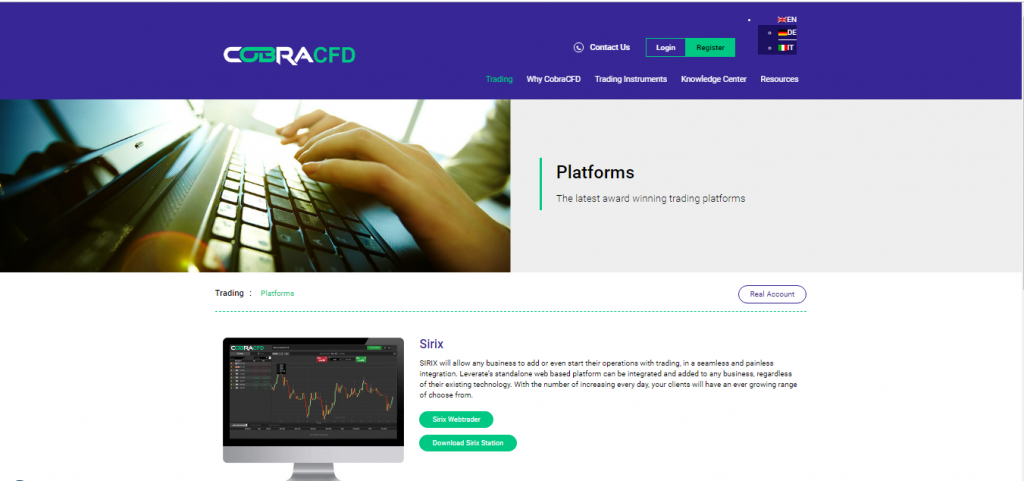 CobraCFD Forex Broker Review