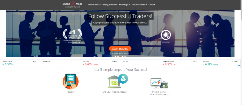 Expert24Trade Broker Review