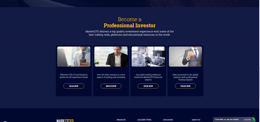 MarketCFD Forex Broker Review