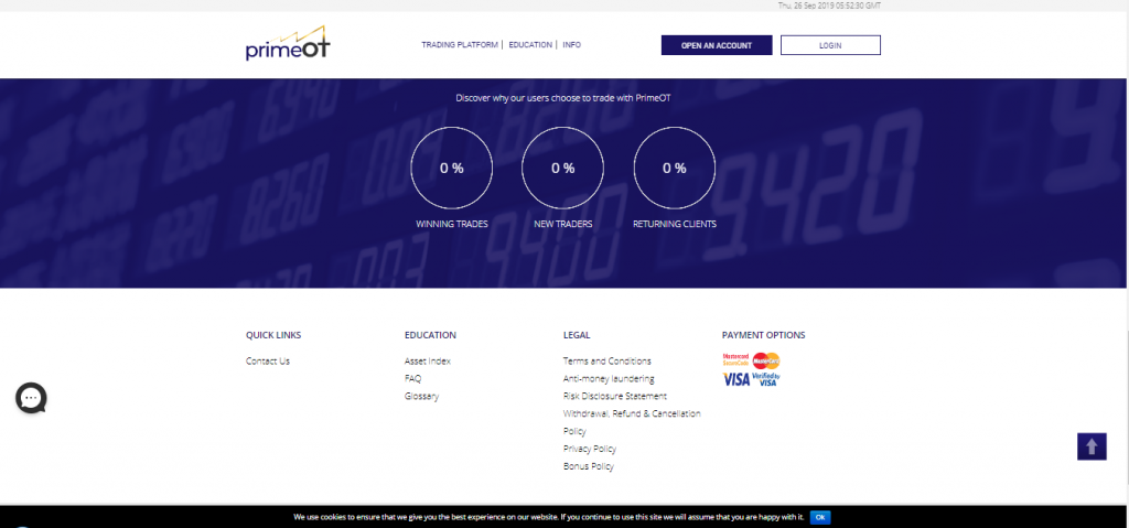 PrimeOT Review Broker Review