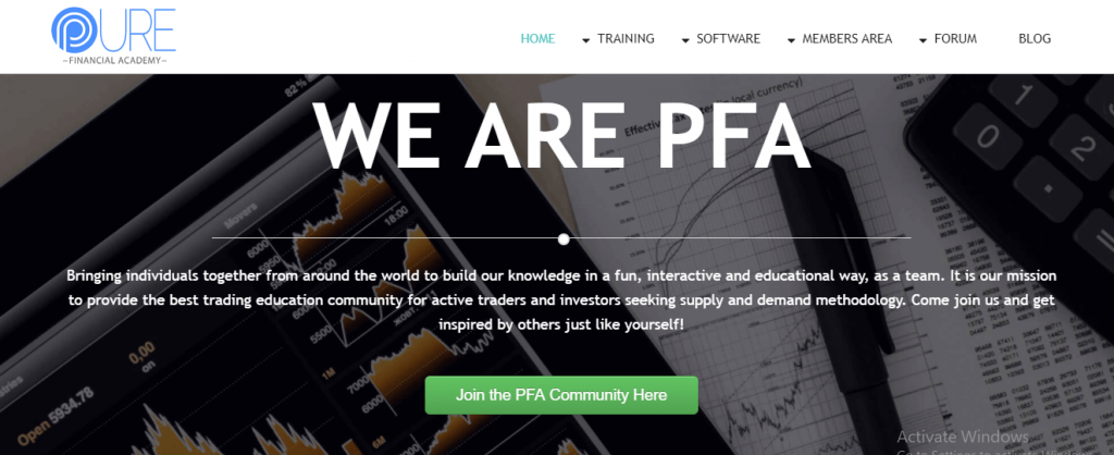 Pure Financial Academy Review, Purefinancialacademy.com Platform