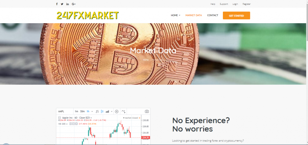 247FXMarkt Binaire Opties en Crypto Currency Broker