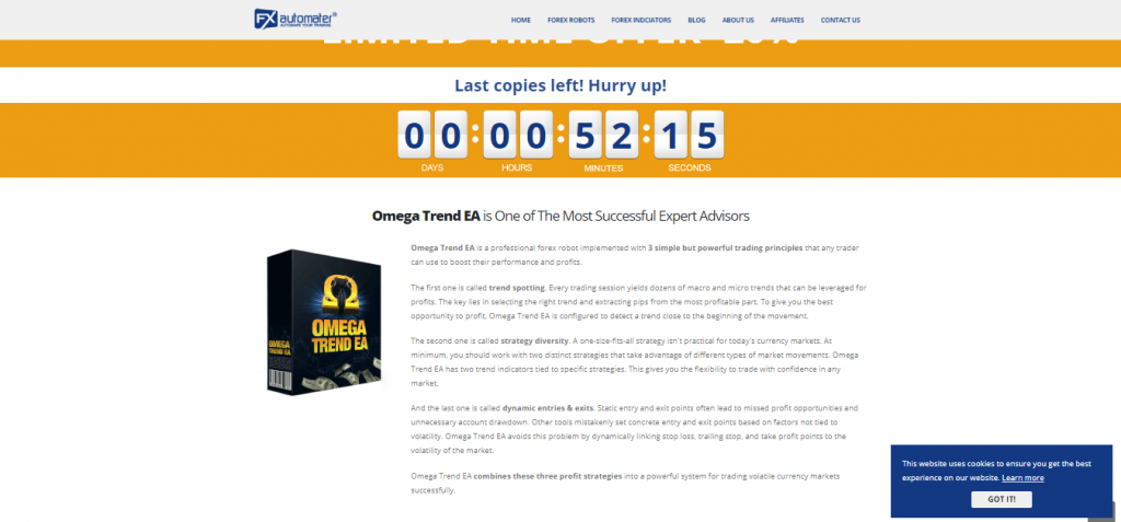 Omega Trend Indicator Review