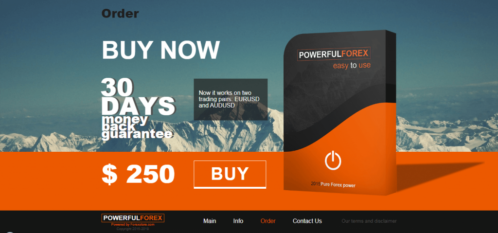 Powerful Forex EA Price