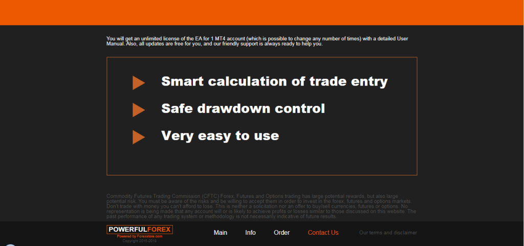 Powerful Forex EA Features