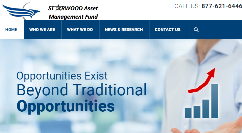Starwood Asset Management Fund Homepage