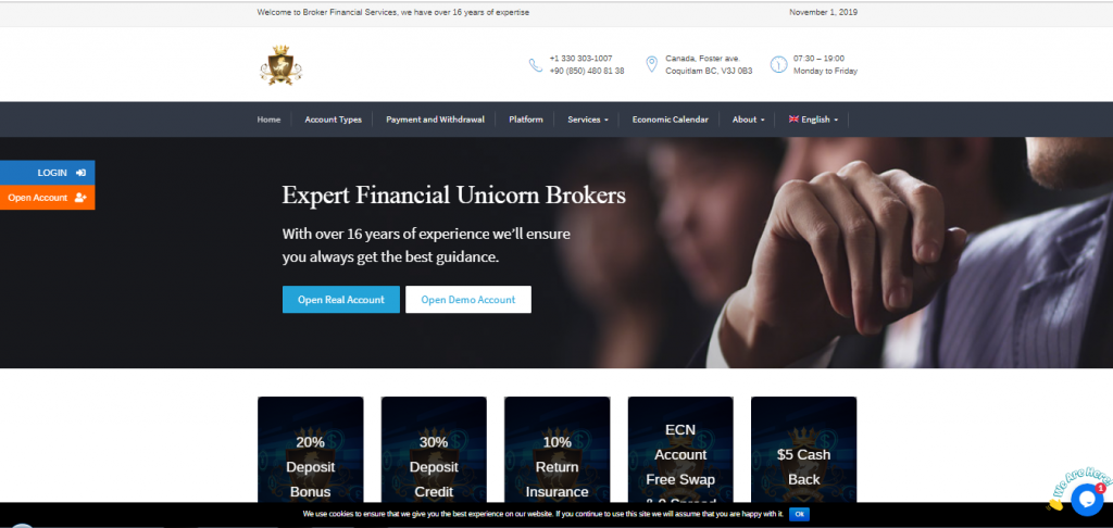 Unicorn Brokers Review