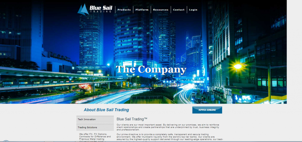 Blue Sail Trading Review
