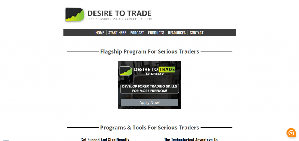 Desire to Trade Features