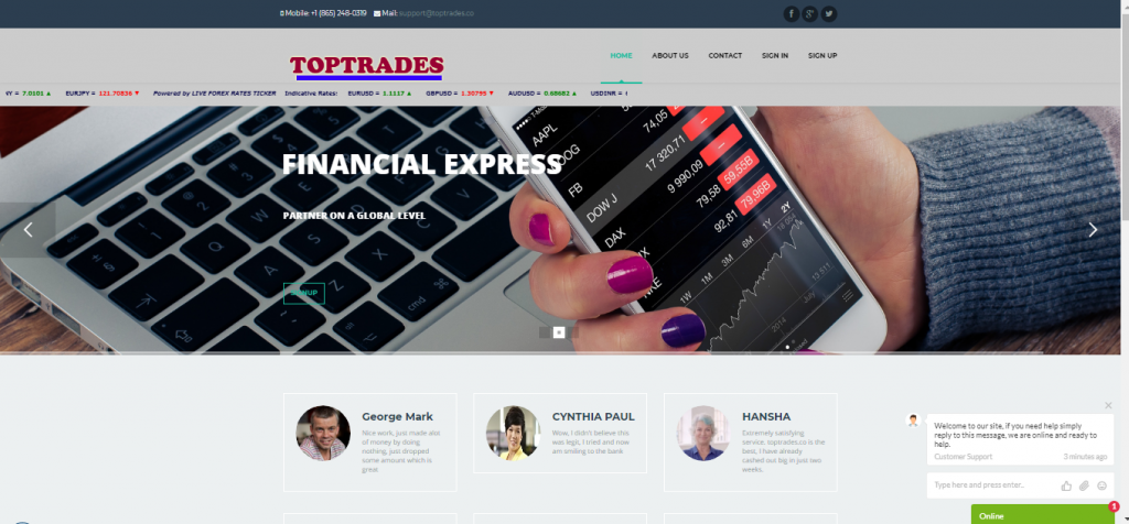TopTrades Review