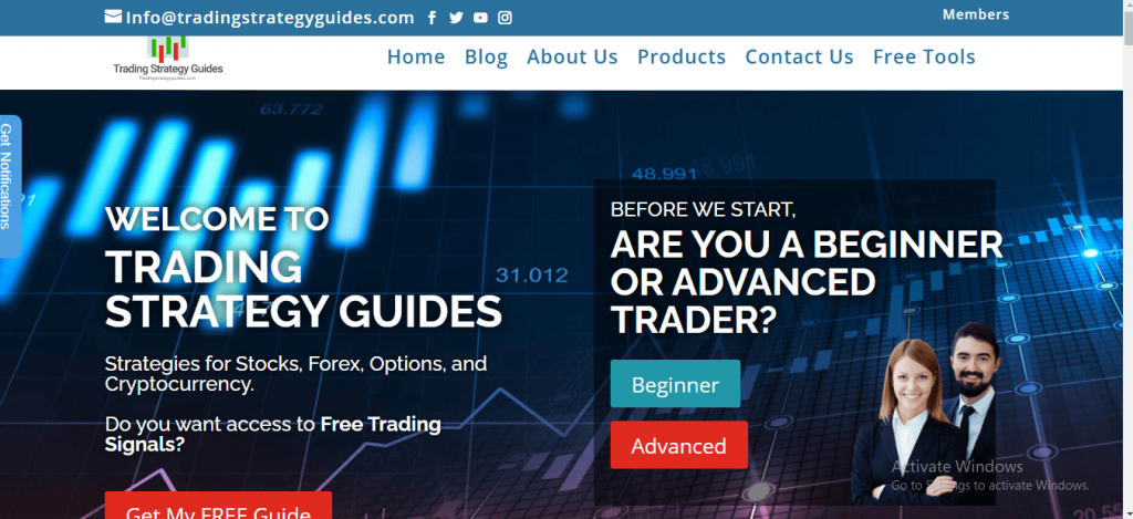 Trading Strategy Guides Review, Tradingstrategyguides.com Platform
