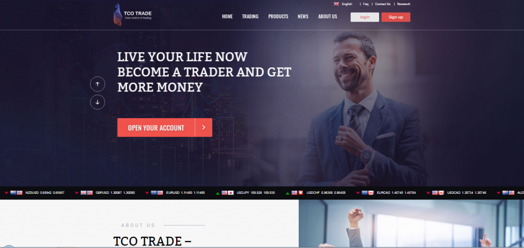 TCO Trade Trading Accounts