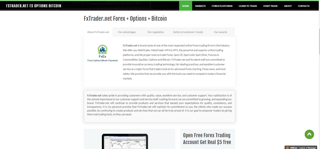 FXTrader Review