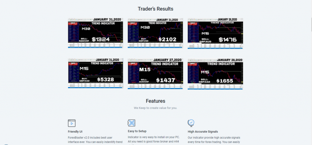Forex Blaster Review