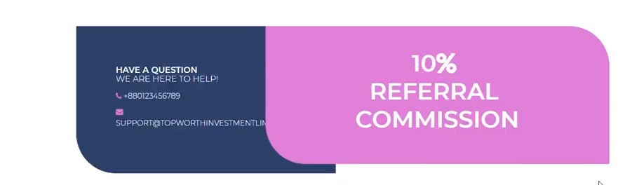 TopWorthinvestmentlimited.com scam review, TopWorth Investment Limited Referral