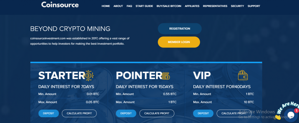 Coinsourceinvestment.com Review, Coinsourceinvestment.com Website