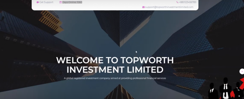TopWorth Investment Review, TopWorth Investment Limited Website