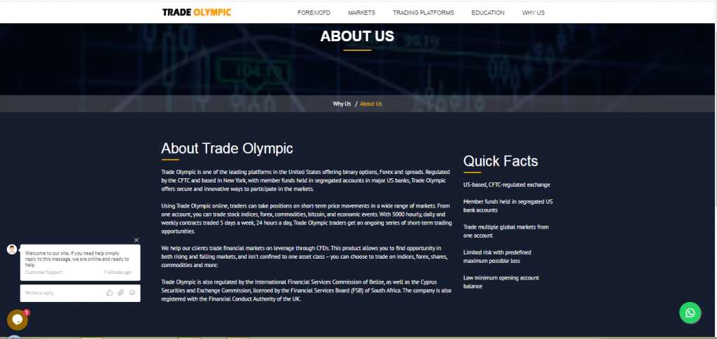 About Trade Olympic