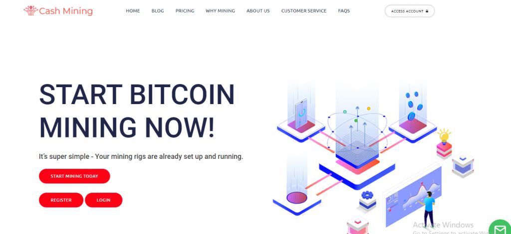 Cash-mining.com Scam Review, Cash-mining.com Platform
