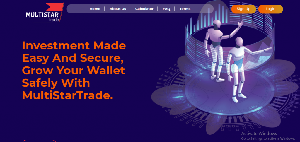 Multistartrade.co Scam Review, Multistartrade.co Platform