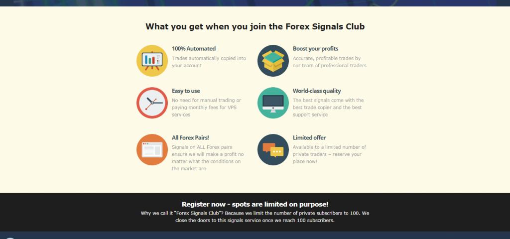 Forex Signals Club Review
