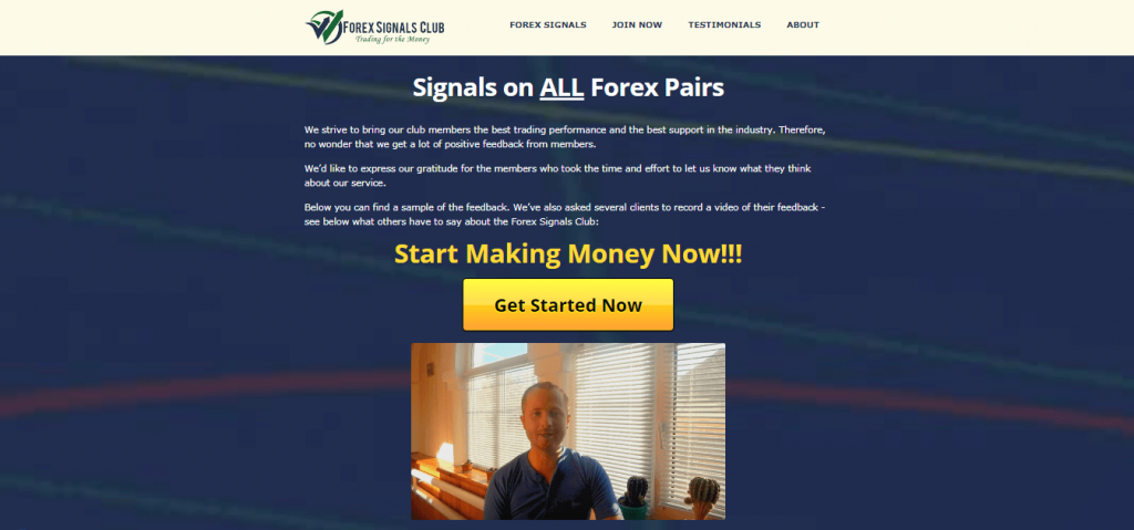 Forex Signals Club Testimonials