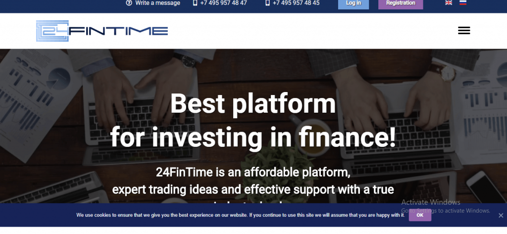 24FinTime Review, 24fintime.io Platform