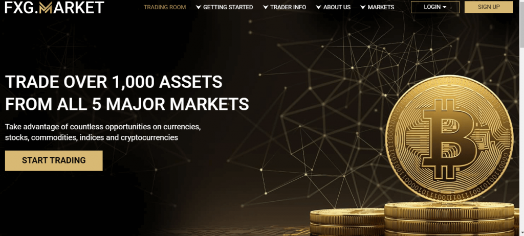 FXG Market Review, Fxg.market Platform