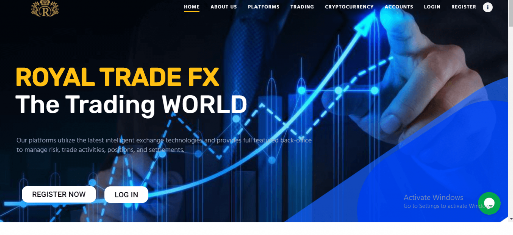 Royal Trade FX recensie, Royaltradefx.com Platform