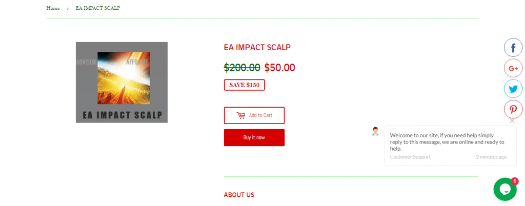 Stunning EA price features