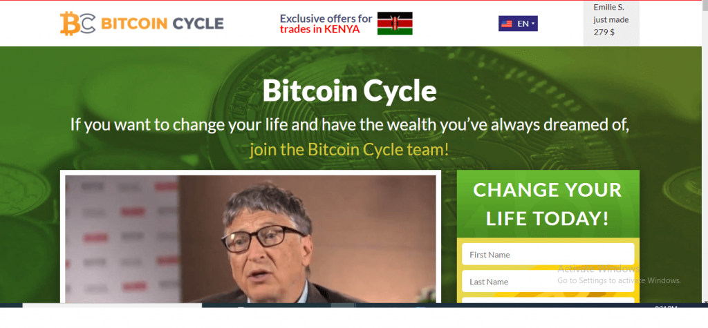 Bitcoin Cycle Review, Bitcoinscycle.com Platform