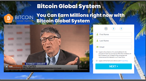 Bitcoin Global System Review,  Bitcoin Global System Platform