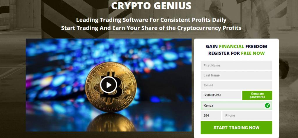 Recenzja Crypto Genius, platforma Crypto Genius