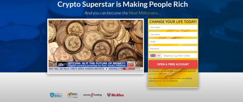 Crypto Superstar Review, Crypto Superstar Review