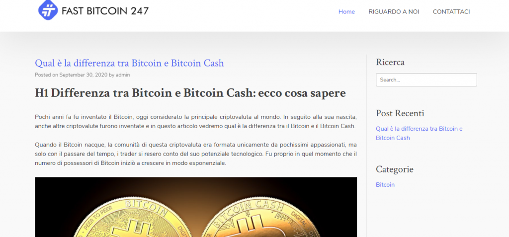 Fast Bitcoin 247 Scam Review, firma Fast Bitcoin 247