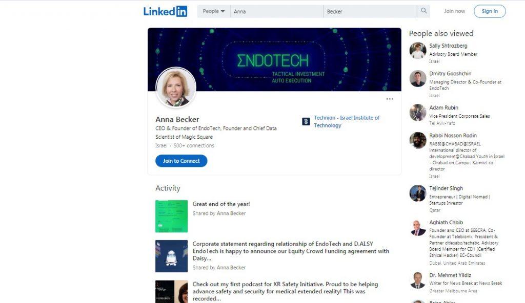 الرئيس التنفيذي والشريك الإداري EndoTech