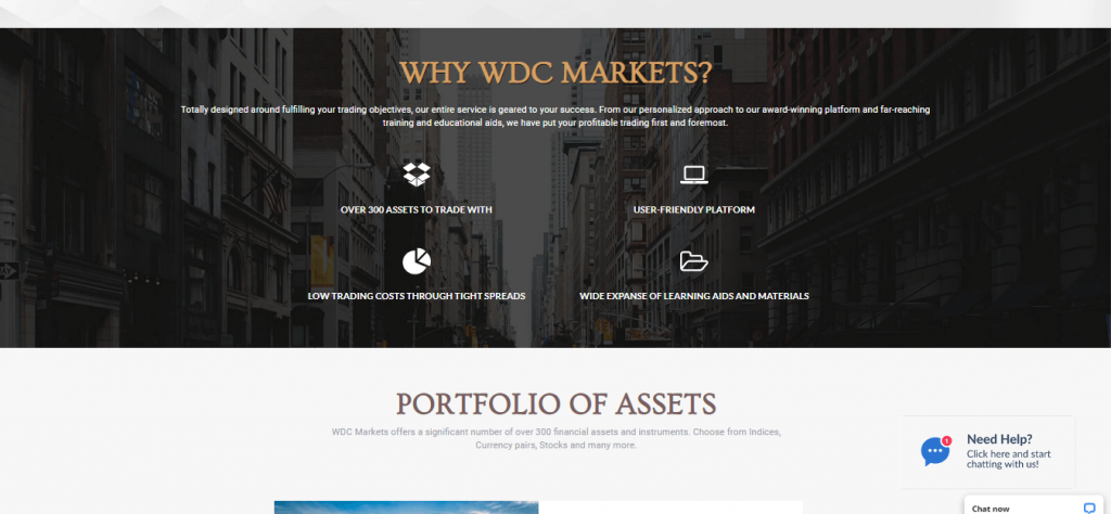 Przegląd rynków WDC