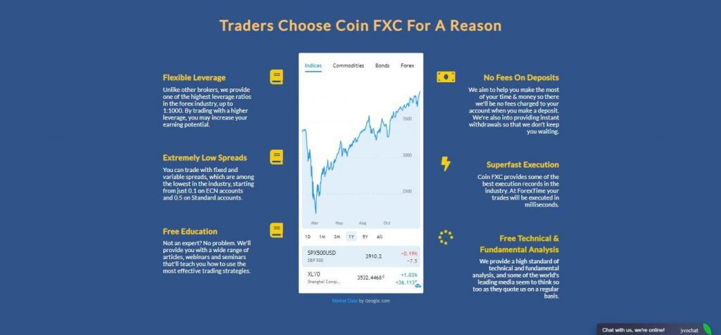 Coin FXC Features