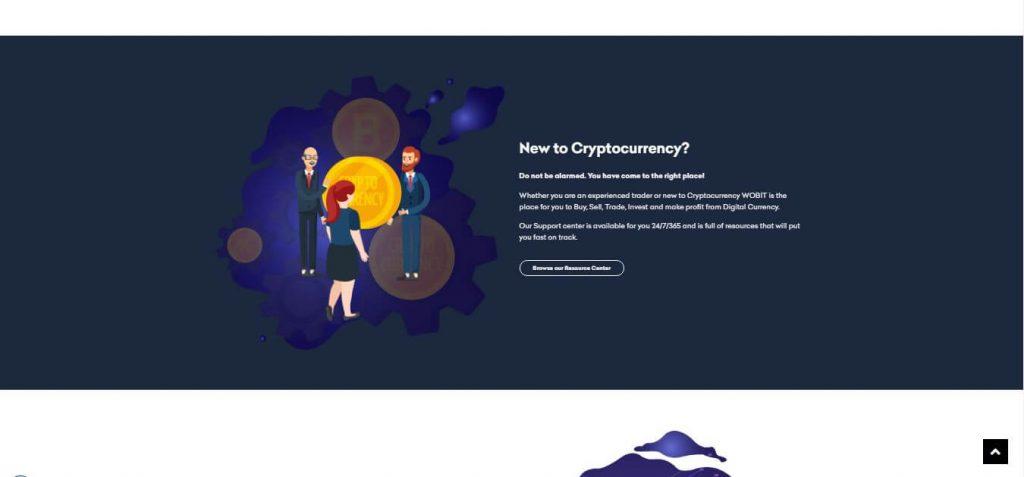 Platforma handlowa kryptowalut Wobit.io